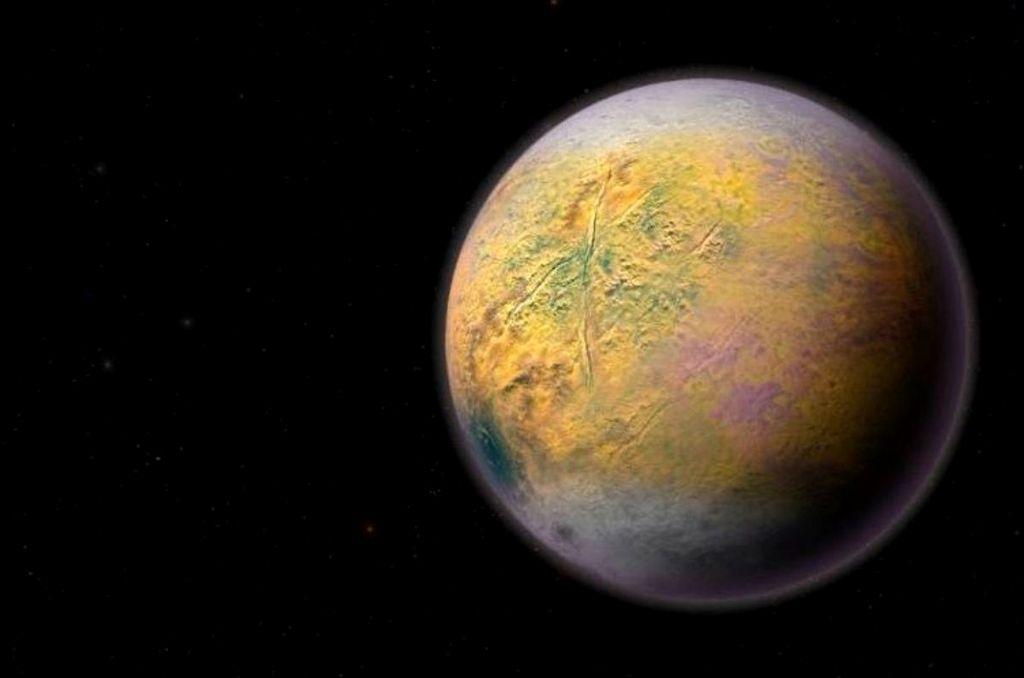 Un noveno planeta. Crédito: Internet