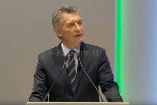 """Macri: """"Para alcanzar el desarrollo debemos eliminar las disparidades de género"""""""