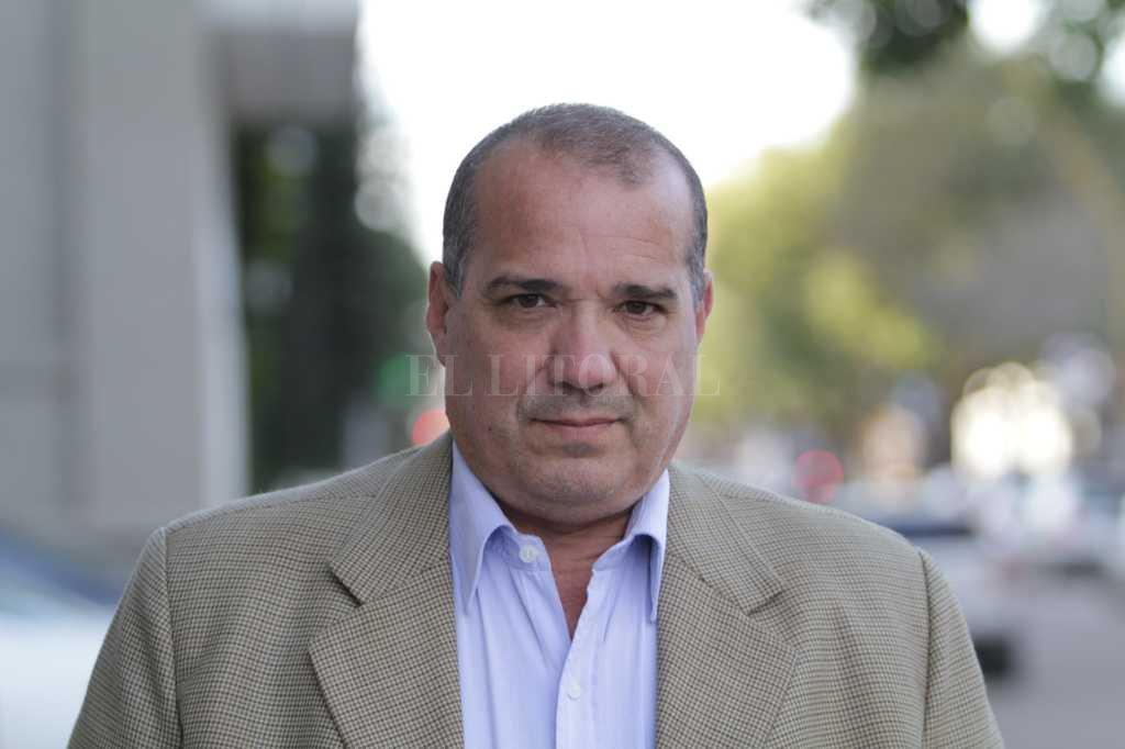 Diputado provincial Julián Galdeano, presidente del Comité Provincial de la UCR. Crédito: Pablo Aguirre