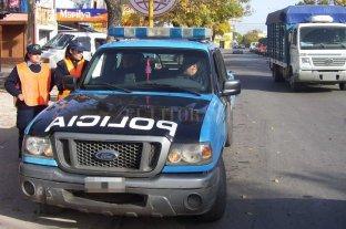 Refuerzan el patrullaje en los accesos y avenidas comerciales de Santo Tomé