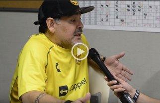 """Maradona: """"No cambiaría nada de lo que hice, ni malo ni bueno"""""""