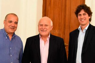 Martín Lousteau se reunió a solas con Miguel Lifschitz en Rosario