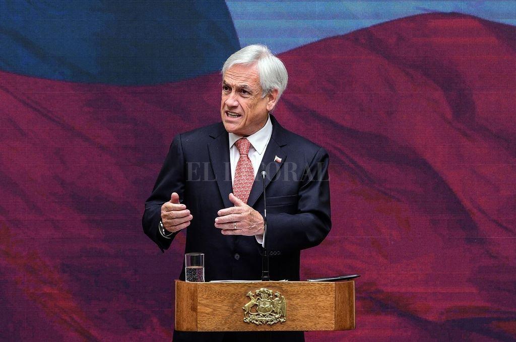 El presidente de Chile, Sebastián Piñera, el 05 de octubre. <strong>Foto:</strong> Archivo