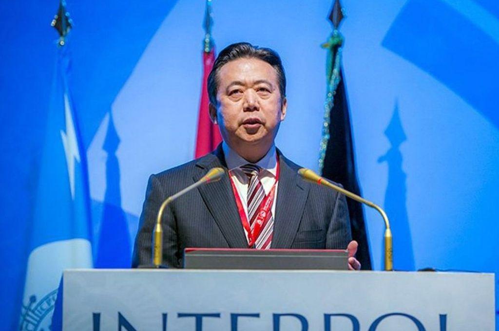 Interpol pide información a China de presidente desaparecido
