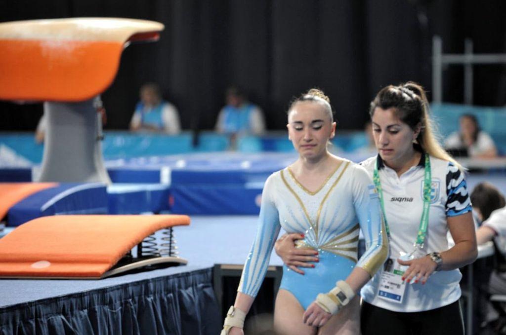 En su primera cita en los Juegos Olímpicos de la Juventud de Buenos Aires, la joven terminó en el puesto 22 (11 466 puntos). Crédito: Internet