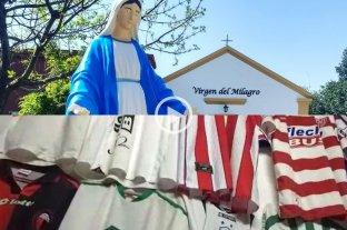 La Virgen del Milagro de Felicia y el fútbol: Un santuario de camisetas