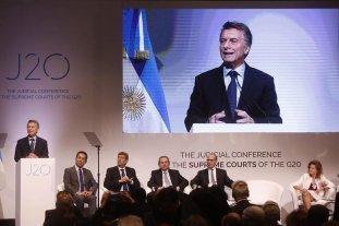 """Macri: """"Estamos combatiendo la corrupción y la impunidad"""""""