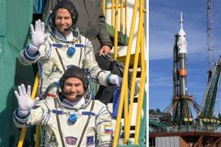 Despegaron hacia la Estación Espacial con un desperfecto y tuvieron que aterrizar de emergencia en la Tierra
