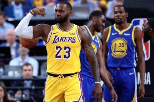 LeBron James ya hace de las suyas con Lakers
