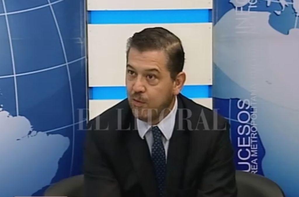 Sebastián Mastropaolo, jefe de la región Litoral de Anses. <strong>Foto:</strong> ASF