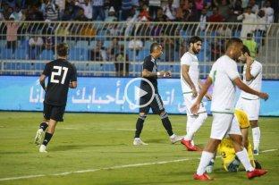 Argentina goleó a Irak en Arabia