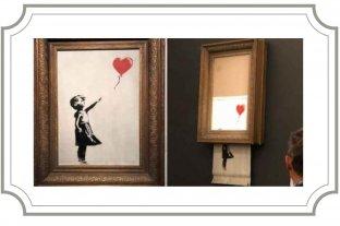 Banksy, trituradora y después