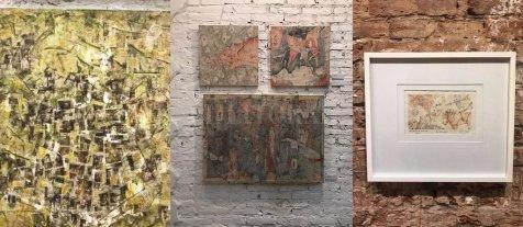 """Rosana Sdrigotti """"Muestra de arte""""  - Obras de la artista Rosana Sdrigotti, expuestas en la Galería Made, ubicada en Sarmiento 3060.  -"""