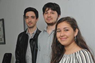 """""""Crecimos rápido y bajo un método diferente"""" - Martín Batistela, Nicolás Calloni y Julieta Almazán. -"""