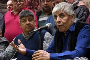 Los Moyano apuntan al Gobierno por el pedido de detención contra Pablo -  -