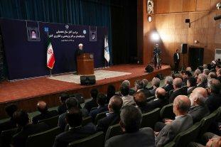 Rohani: Irán seguirá en el acuerdo nuclear y no teme a las sanciones de Estados Unidos