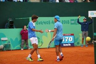 Medalla de Oro para Argentina en tenis: Báez y Díaz Acosta ganaron la final de dobles masculino  -  -