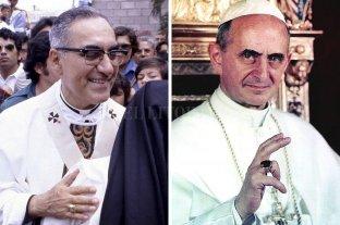 Óscar Arnulfo Romero y Pablo VI, nuevos santos - Óscar Arnulfo Romero y Pablo VI. -