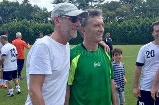 Murió el representante de futbolistas Eduardo Gamarnik - Gamarnik tenía una cercana relación con Mauricio Macri de la época en la que este último presidió Boca.