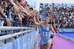 Argentina da al mundo una imagen inédita - El hockey femenino obtuvo este domingo la medalla dorada.