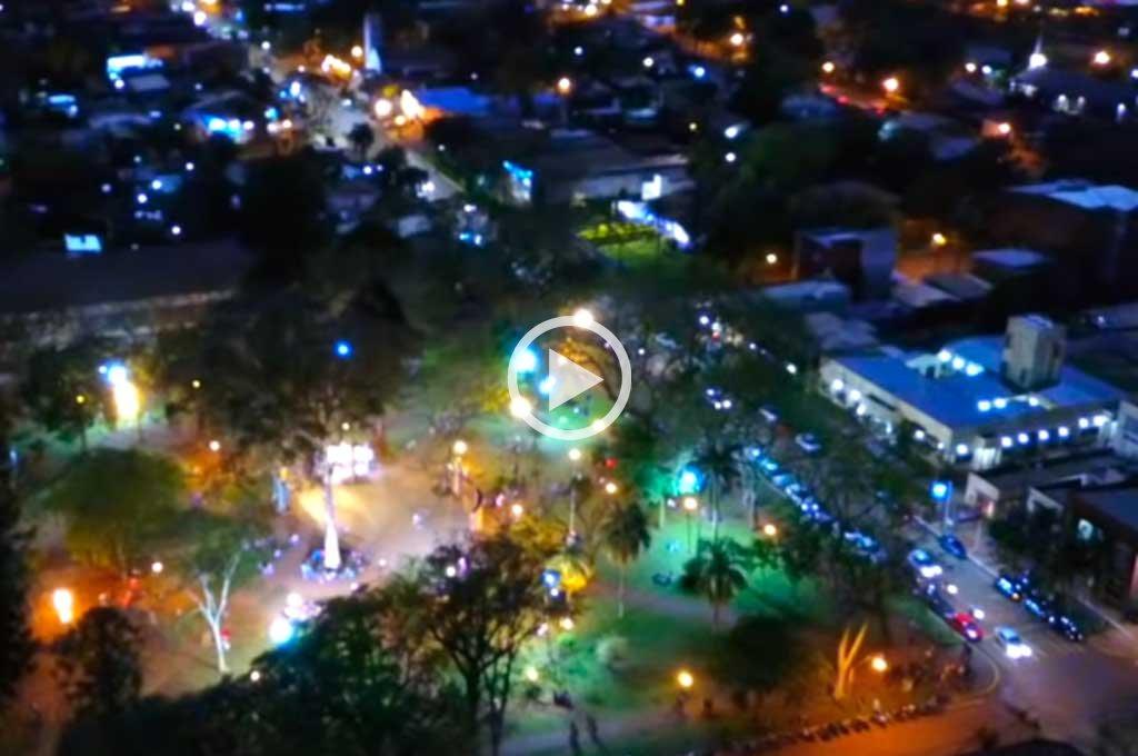 Se iluminó el cielo del norte de Corrientes y sorprendió a sus habitantes