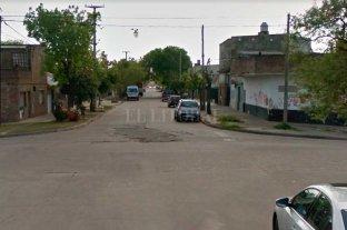 Motociclista en estado delicado tras siniestro vial - La zona donde se produjo el hecho  -