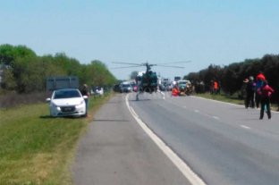 Autopista trágica: murió una mujer tras siniestro vial -