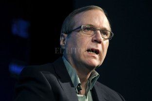 Murió Paul Allen, cofundador con Bill Gates de Microsoft - Paul Allen. -