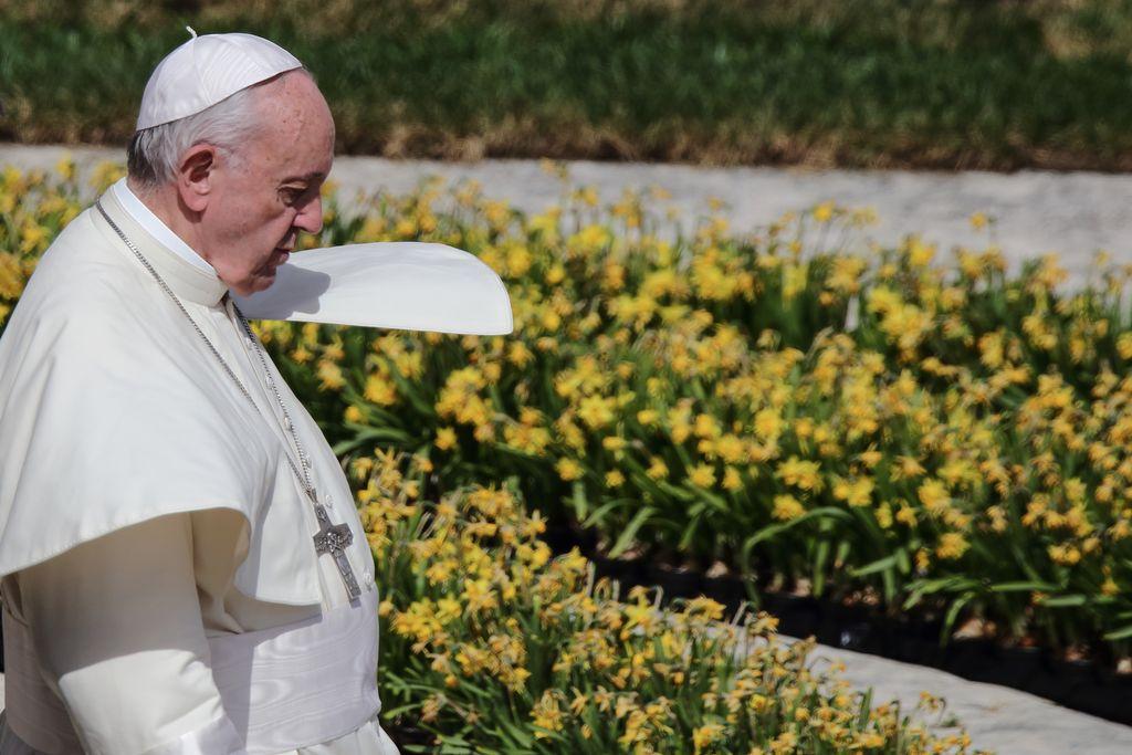 """Francisco denunció la """"falta voluntad política"""" para combatir el hambre -  -"""
