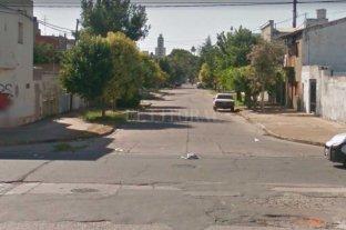 Motochorros golpearon y robaron a una vecina en barrio Sur - La zona donde se produjo el hecho  -