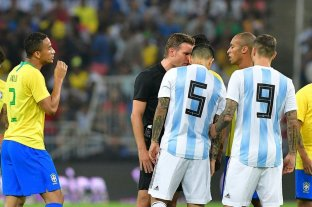 Argentina y Brasil empatan en Arabia Saudita -