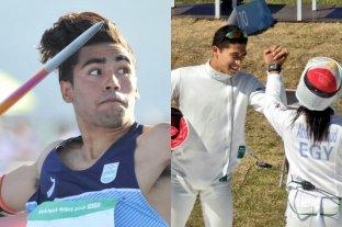 Argentina sumó dos nuevas medallas de plata en jabalina y pentatlón moderno -  -