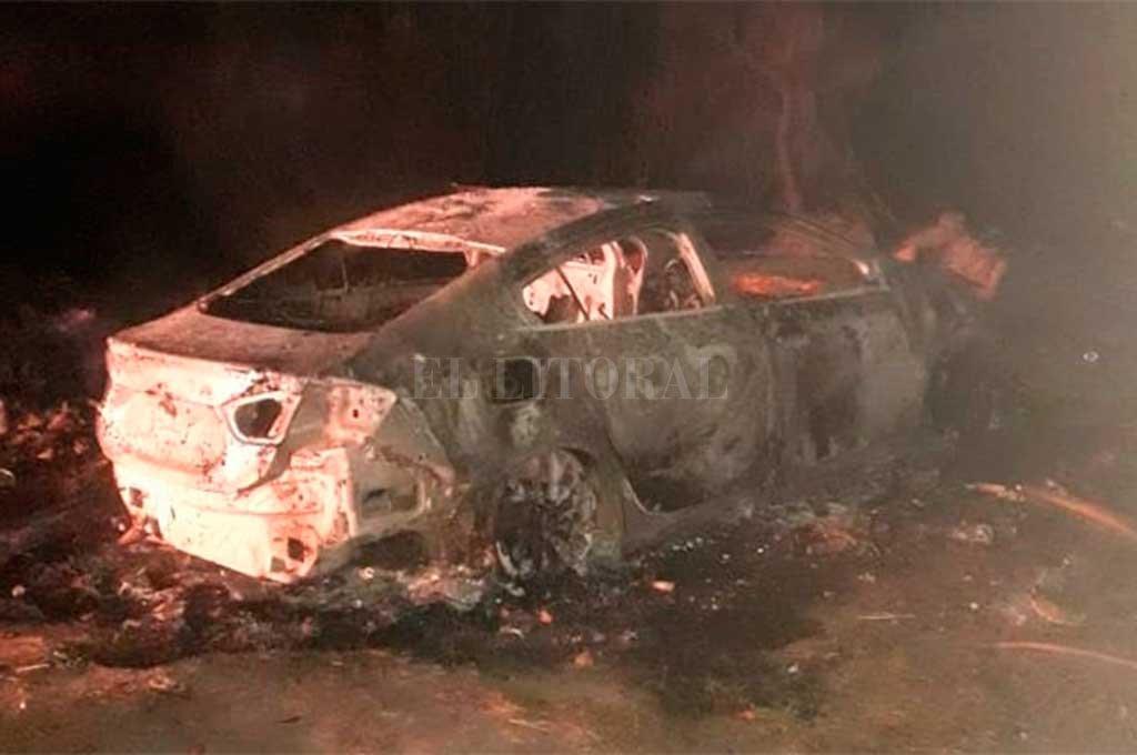 Le quemaron el auto a un jugador de Patronato