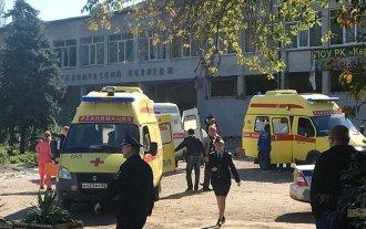 Atentado en Crimea: detonaron una bomba en una escuela y murieron 18 personas