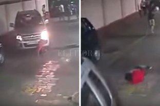 Increíble: niño fue atropellado por un auto, se levantó y siguió jugando al fútbol