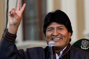 """Evo Morales envió un saludo por el día de la Lealtad Peronista: """"Perón vive"""""""