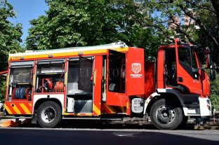 Mirá la nueva autobomba que tienen los bomberos de Santa Fe -  -