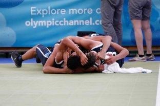 Argentina suma medallas doradas en básquet 3x3 y boxeo -  -