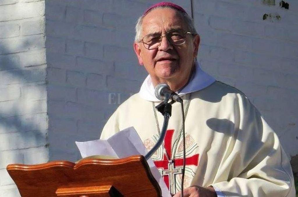 El obispo de Rafaela habló con Mirador Provincial. <strong>Foto:</strong> Gentileza