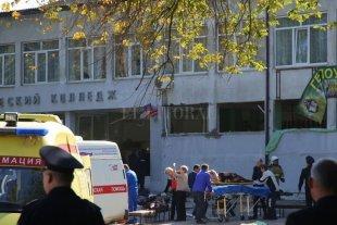 Ataque en la escuela de Crimea: el gobierno busca cómplices