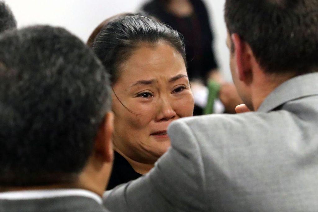 La Justicia peruana suspendió la detención preliminar y ordenó la liberación de Keiko Fujimori. <strong>Foto:</strong> Internet