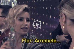 "Flor Peña quería pelea: ""Arremeté"", le dijo a Laurita  -"