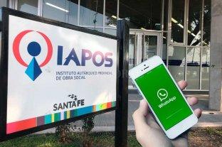 Iapos habilitó un WhatsApp para consultas por medicamentos -