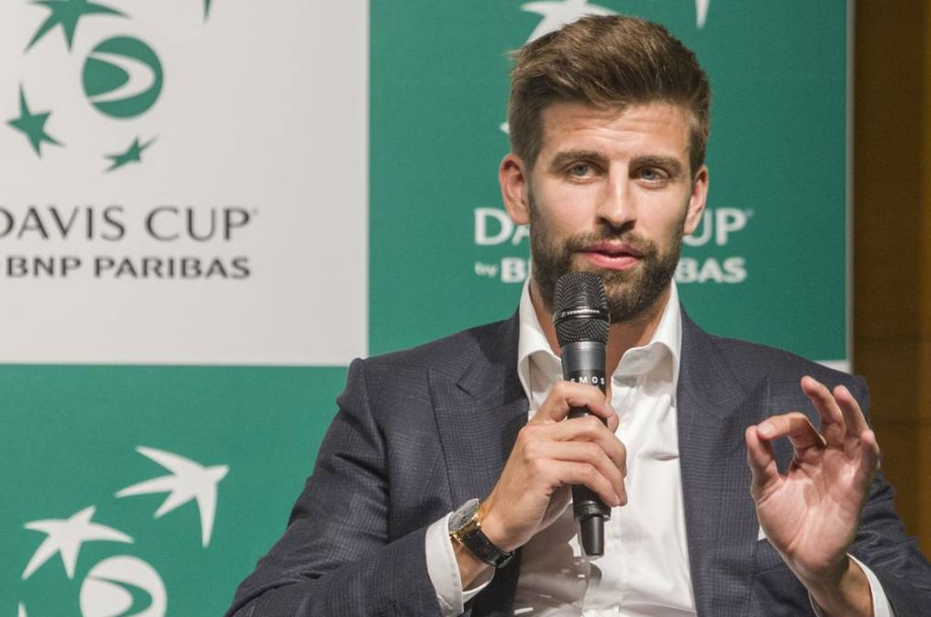 """Piqué, firme sobre Federer: """"Es lo que hay, tiene la edad que tiene y las piernas le dan para lo que le dan"""""""