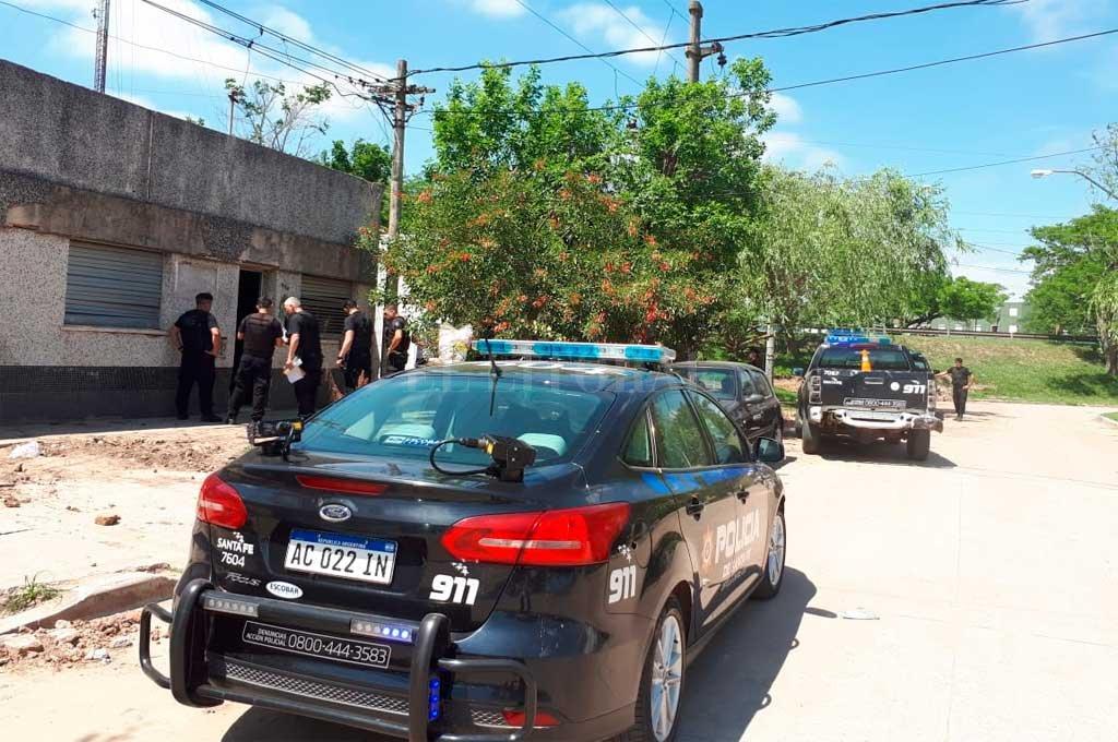 Persecusión y detención en barrio Chalet