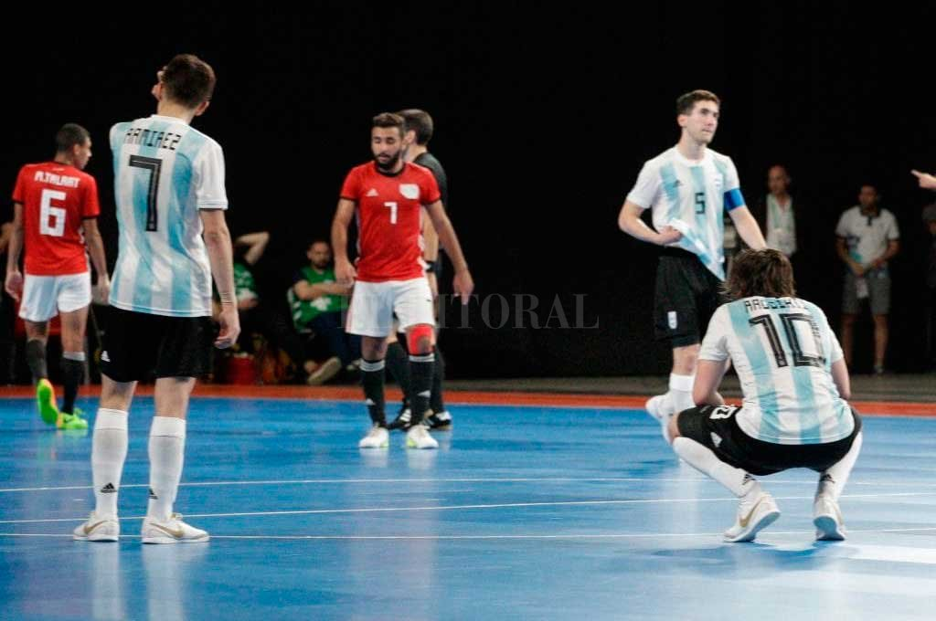 Argentina se quedó sin medalla en futsal