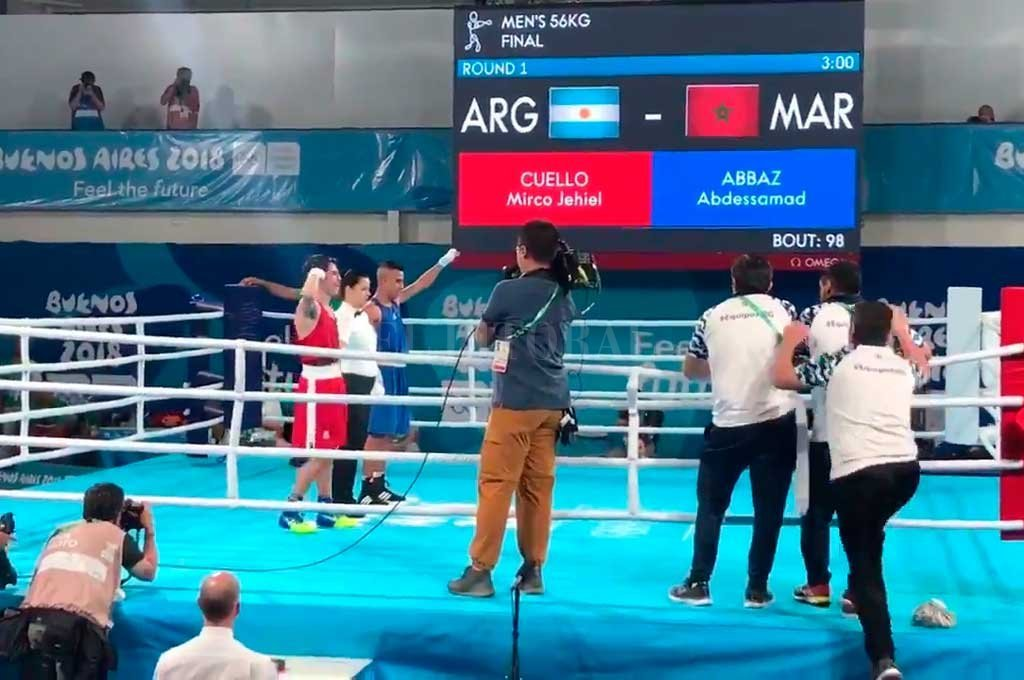 El santafesino Cuello se quedó con el bronce en boxeo