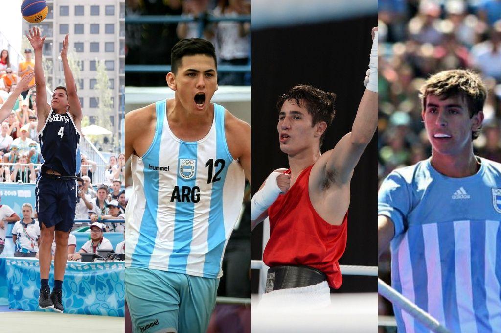 Buenos Aires 2018: cuatro santafesinos lograron medallas