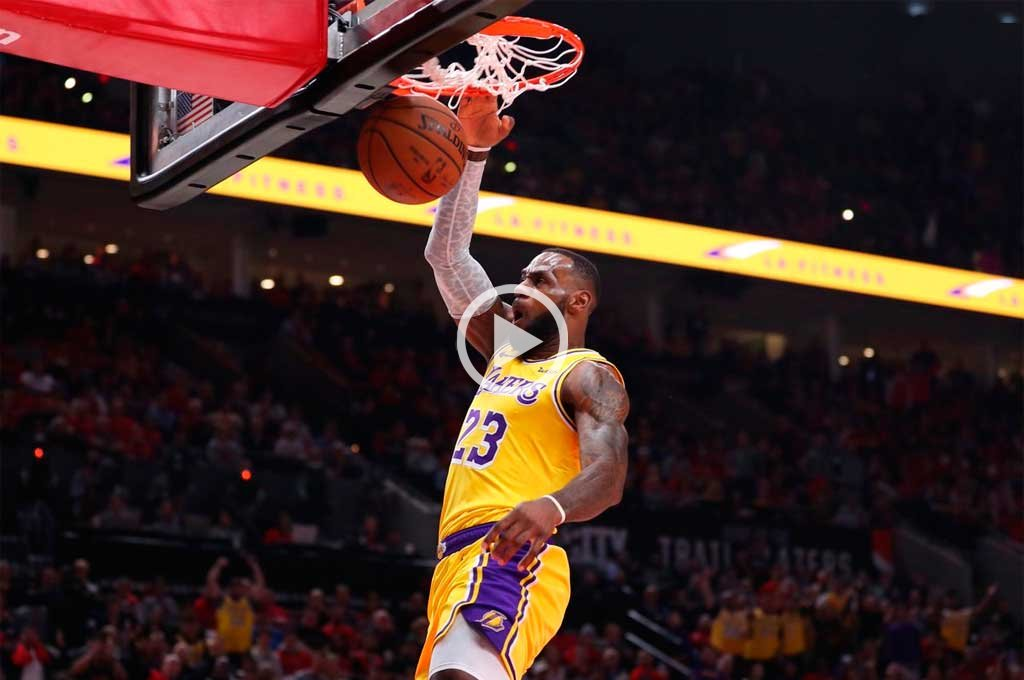 LeBron James debutó con derrota en Lakers