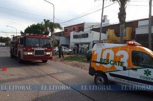 Una violenta pelea de pareja terminó con una mujer internada y un departamento quemado